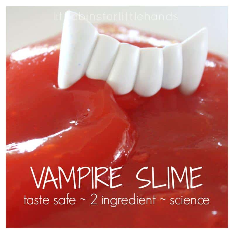 Vampire Slime Metamucil Slime Taste Safe Science No Borax No Starch