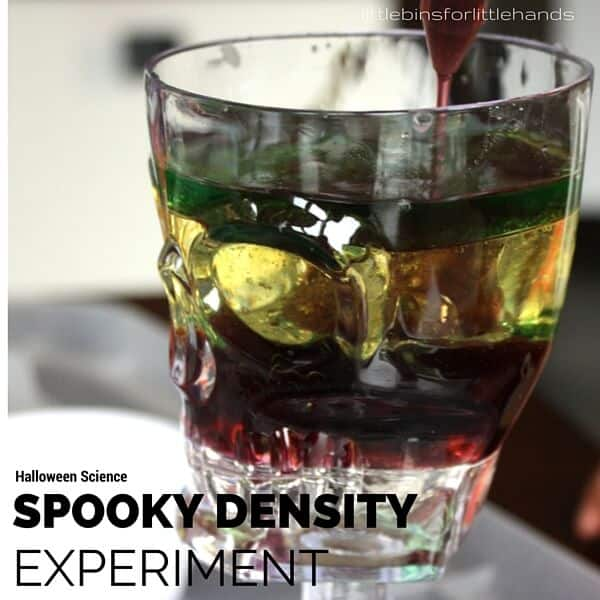 Spooky Science Halloween Density Experiment