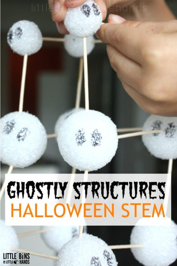 halloween-ghost-styrofoam-ball-structures-engineering-and-stem-activity