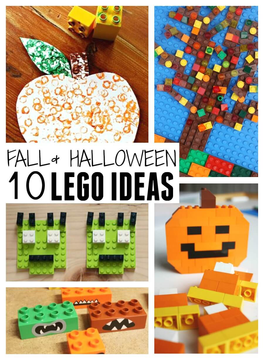 LEGO Fall Activities And Halloween Ideas For Kids STEAM