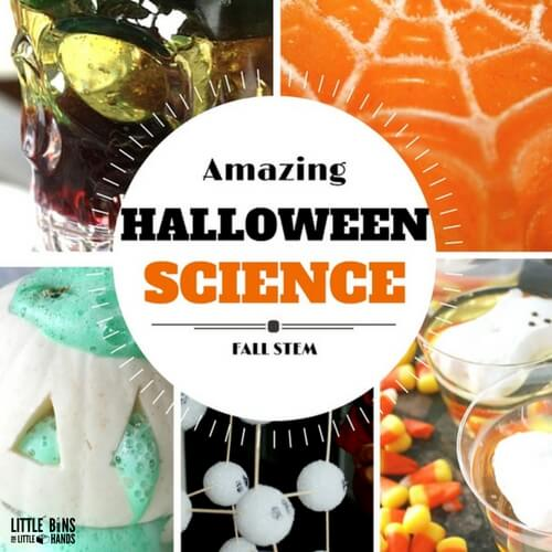 Halloween Science Activities and STEM Ideas for Kids Fall Science Experiments
