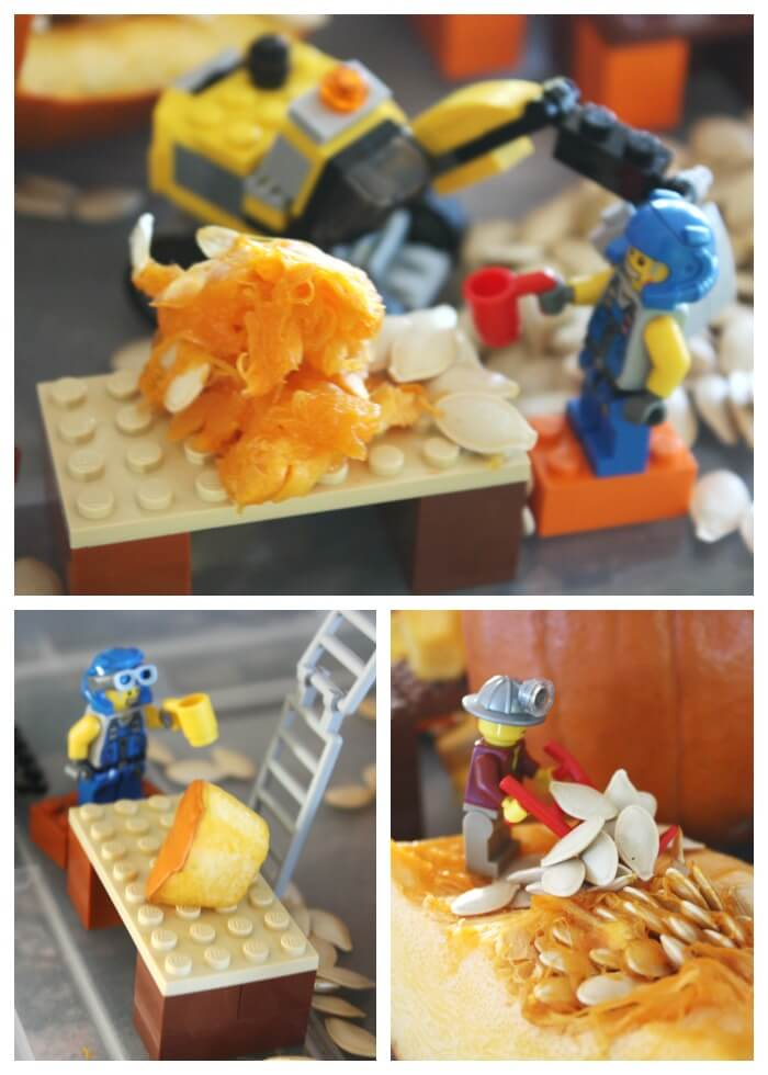 LEGO World Pumpkin Play Excavation Site