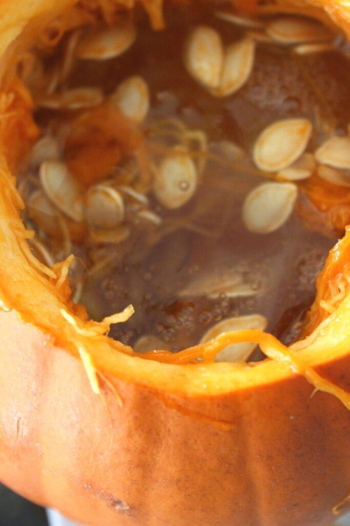Pumpkin Slime Ingredients in Pumpkin