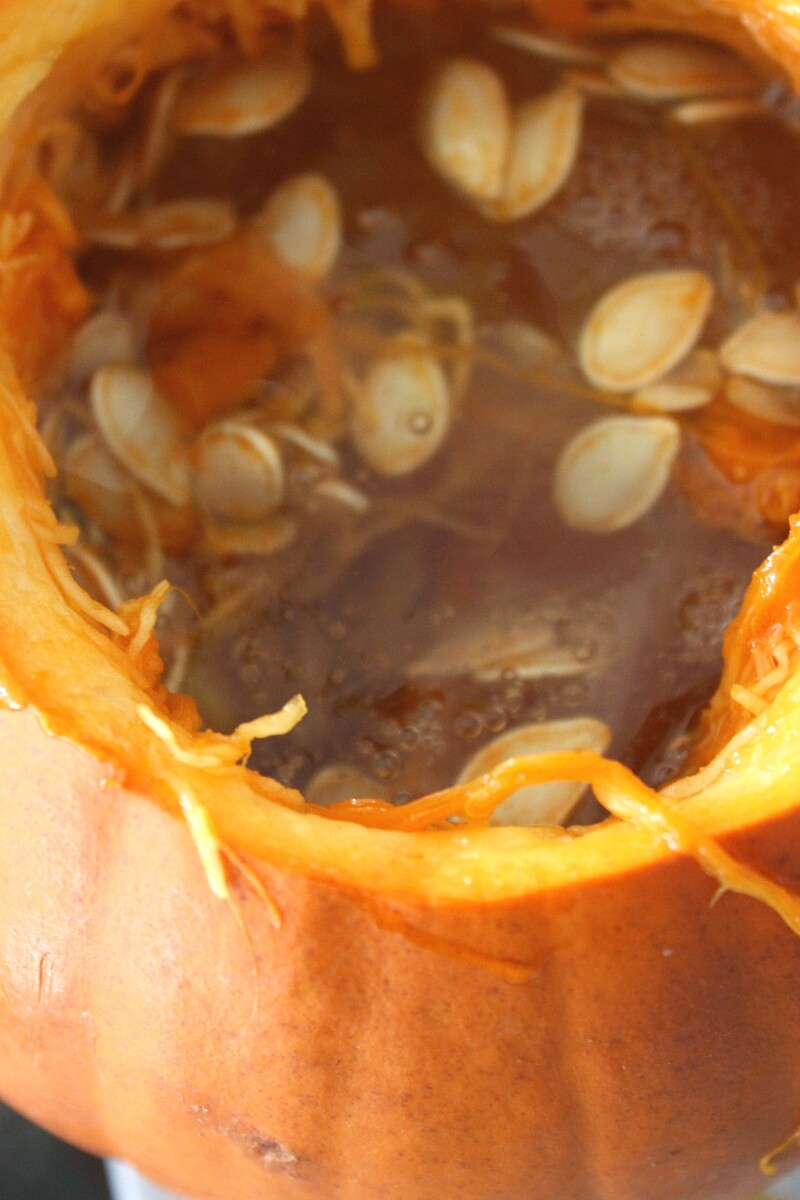 How To Make Pumpkin Slime With A Real Pumpkin