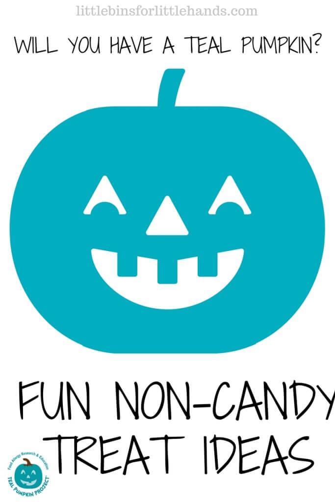 Teal Pumpkin Project Non Candy Halloween Treats for Kids Halloween