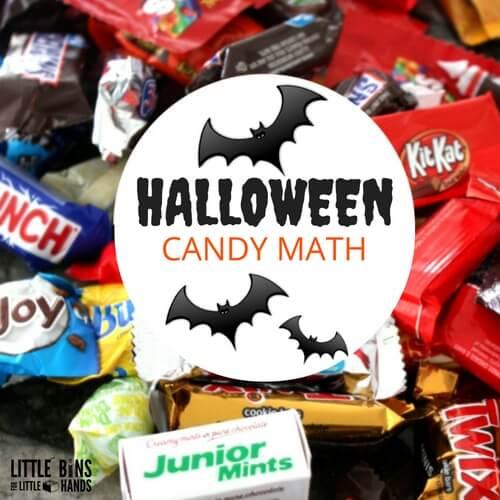 Halloween Candy Math Activities
