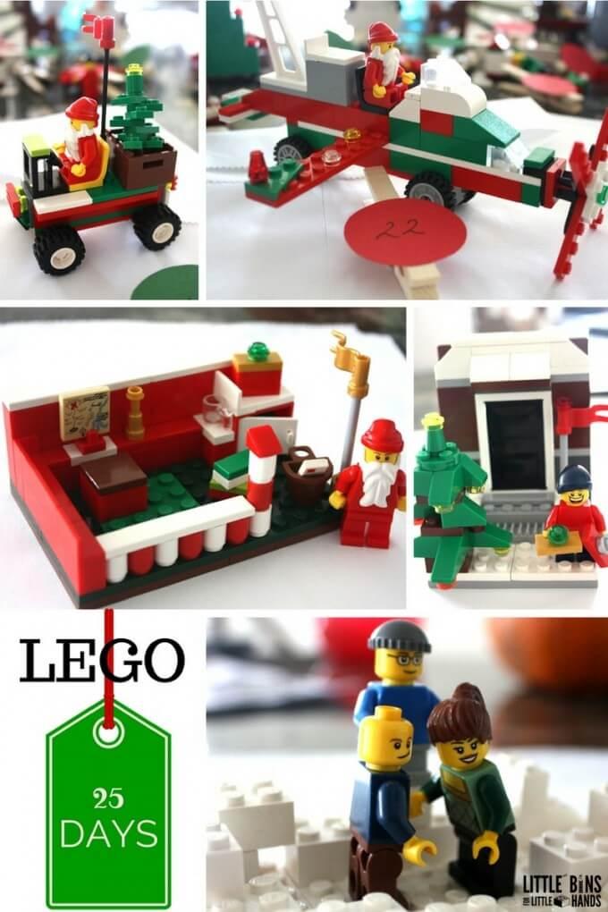 LEGO Christmas Advent Calendar Ideas Vehicles for Santa