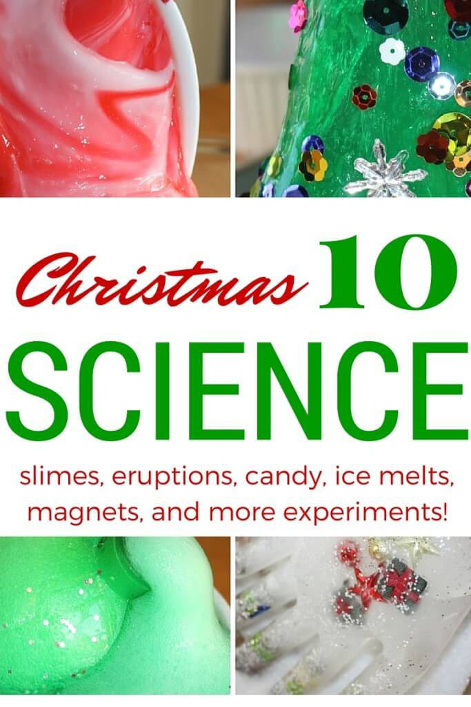 Crystal Candy Canes Christmas Science Experiment