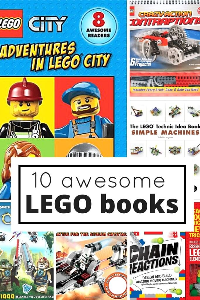 10 LEGO Books for Kids