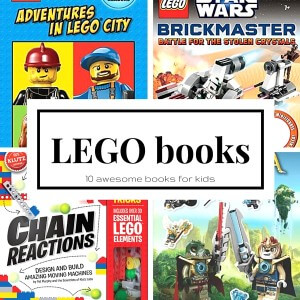 10 LEGO books for Kids LEGO gift ideas