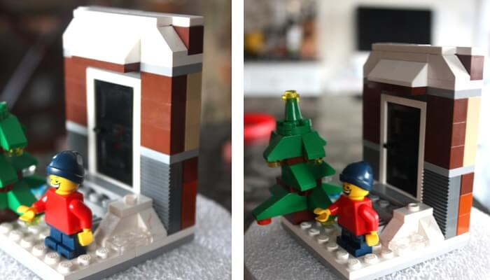 LEGO Christmas Winter Scene Minifigure
