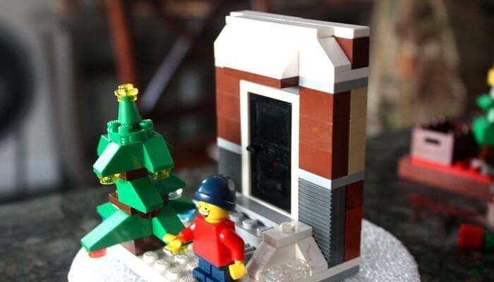 LEGO Christmas Building
