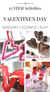 15 Valentines Day Science Experiments STEM Activities for Kids
