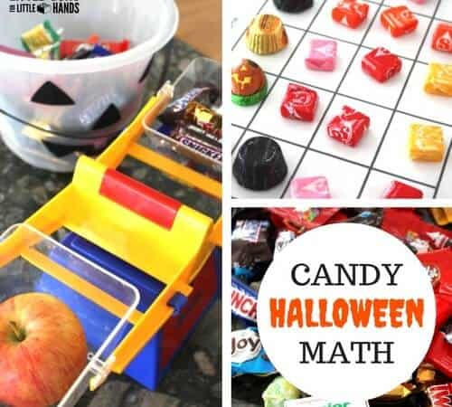 Candy Math Activities with Halloween Candy