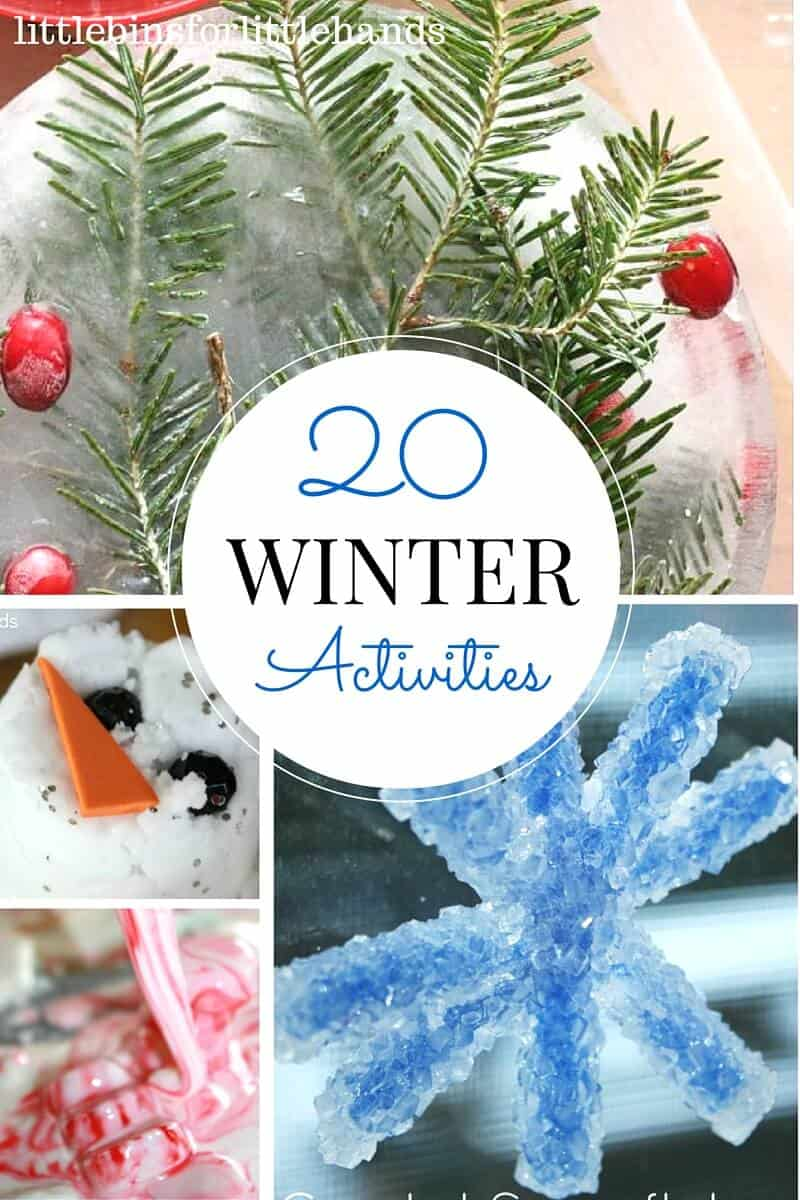 20 Winter Activities and Science Experiments for Kids