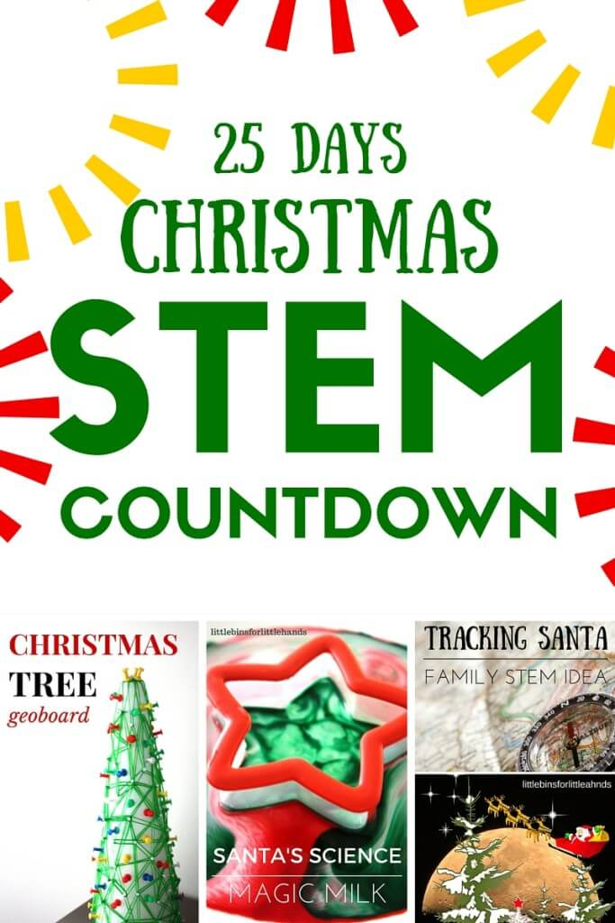 25 Days of Christmas STEM Countdown Calendar Advent