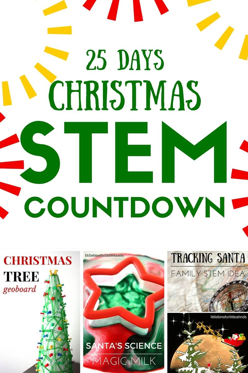 Christmas Stem Countdown Calendar Science Advent Idea