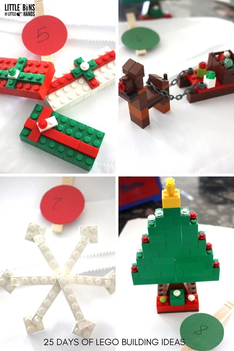LEGO Advent Calendar DIY Christmas Countdown Calendar
