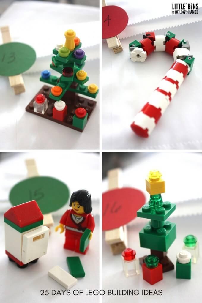 LEGO Christmas Building Ideas Days 13-16 LEGO Advent Calendar