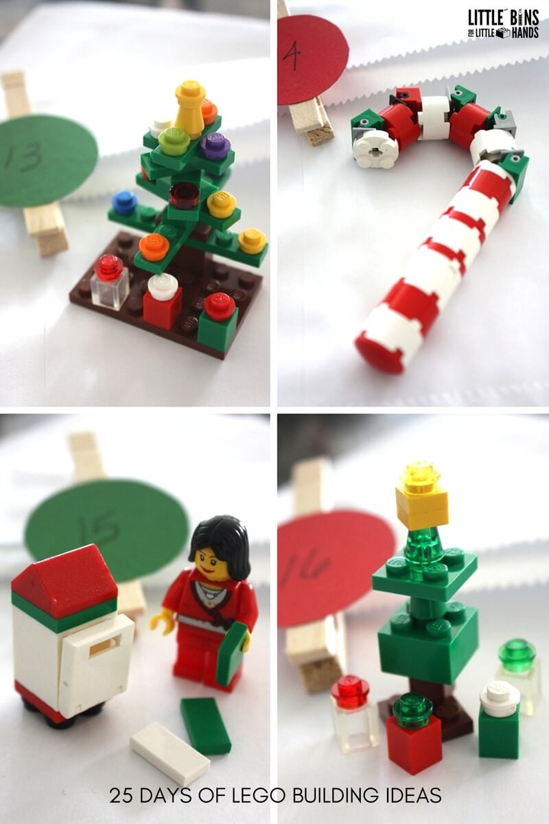 Lego Advent Calendar Diy Christmas Countdown Calendar
