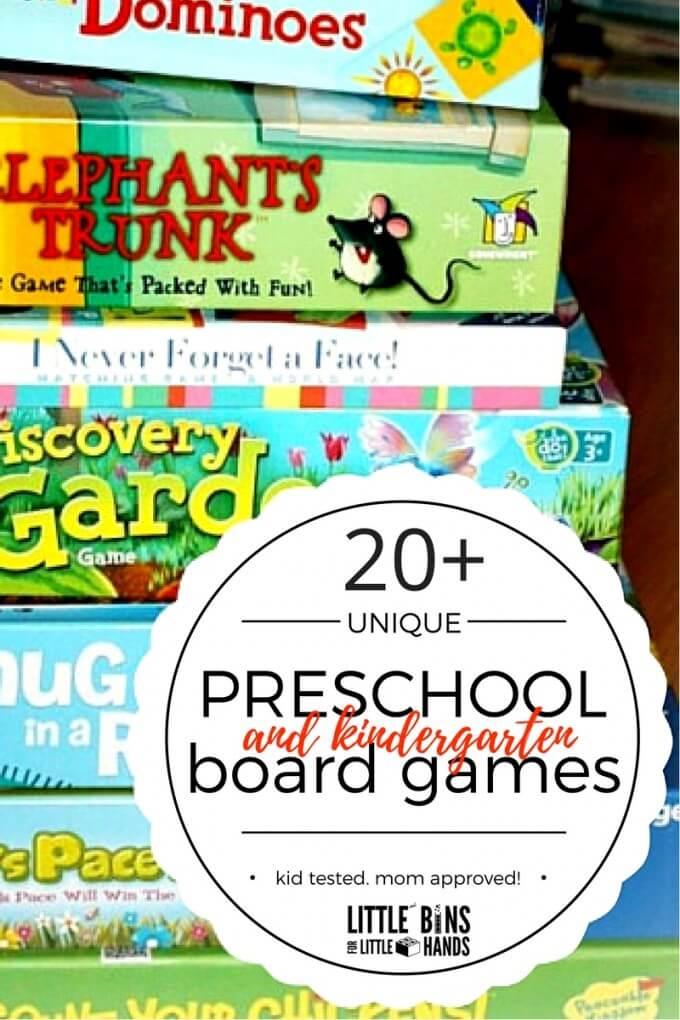 Best Preschool Board Games for Ages 3-8 Also Includes Kindergarten Board Games-2