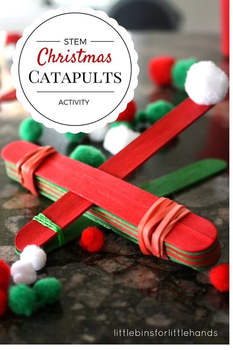 Simple And Smart Nail Art Ideas: Christmas STEM Activity Simple Catapult For Kids To Make