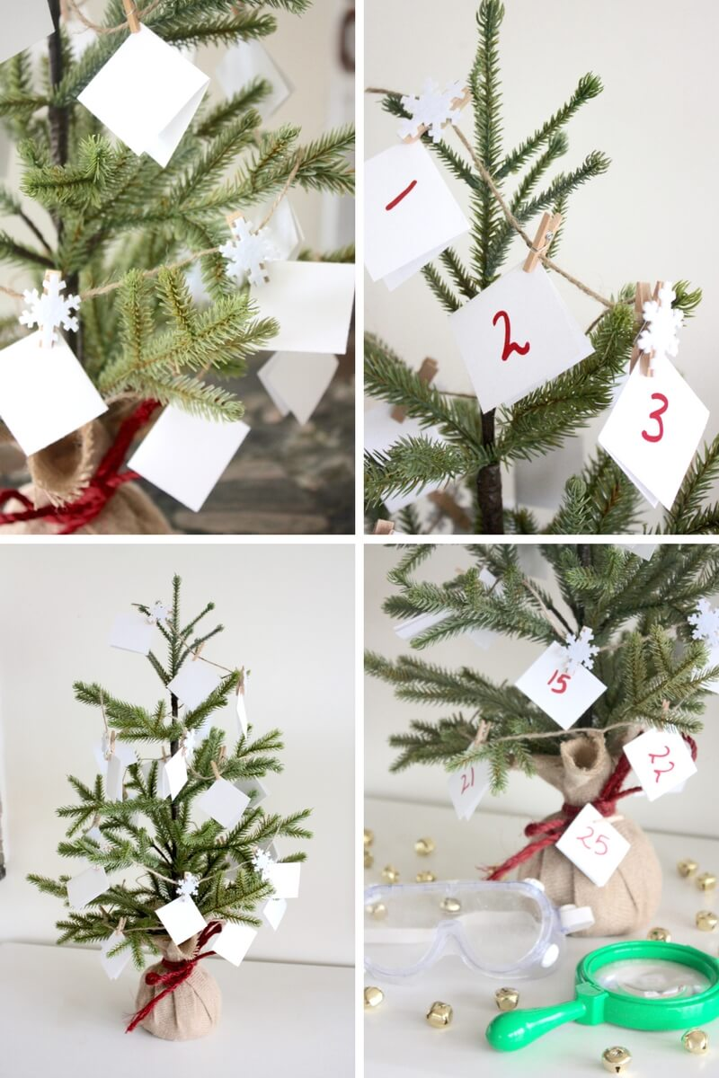 Christmas STEM Countdown Calendar Science Advent Idea