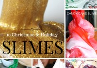 Christmas Slime Holiday Slimes Winter New Years Snowflake Activities