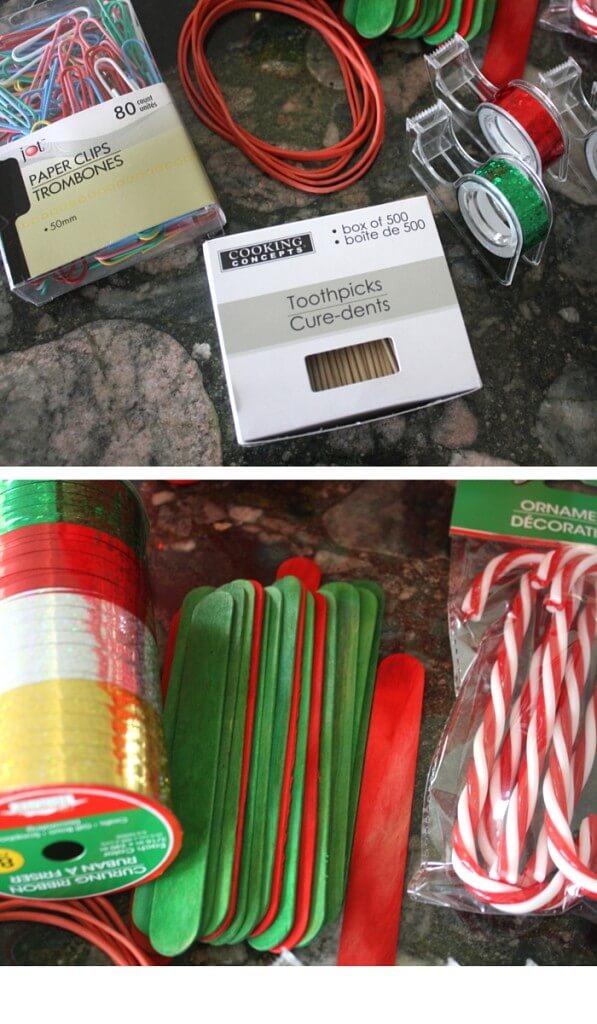 Christmas Tinker Kit Dollar Store Supplies Holiday STEM