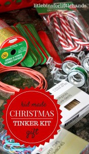 Christmas Tinker Kit Gift Kid Made Holiday STEM
