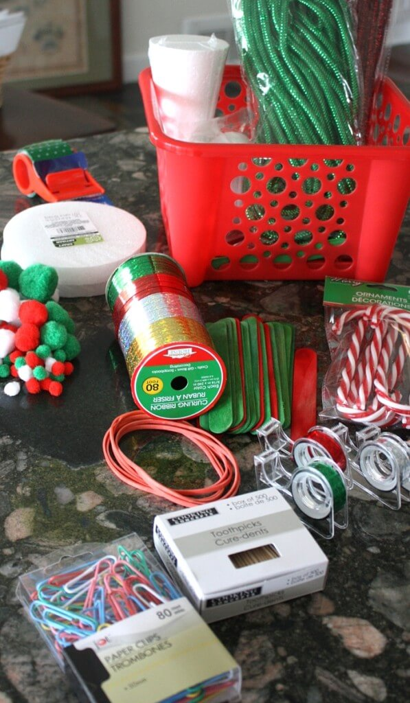 Christmas Tinker Kit Supplies