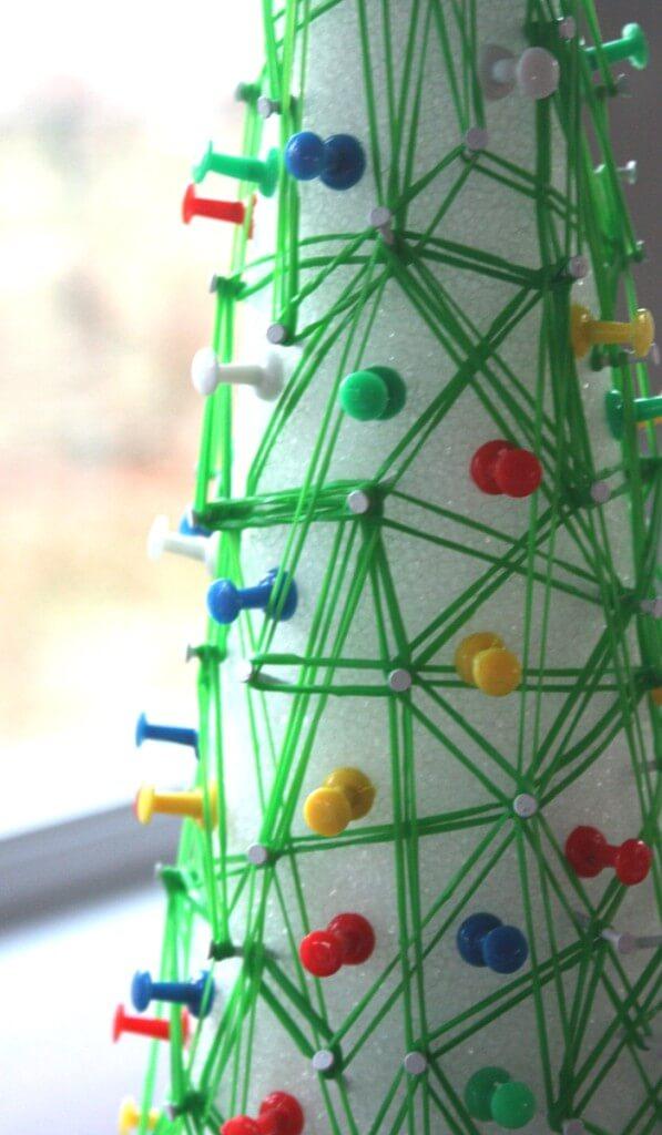 Christmas Tree Geoboard