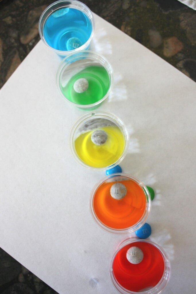 Flaoting M Candy Rainbow Science