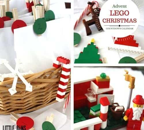 LEGO Advent Calendar 25 Days of Christmas Countdown