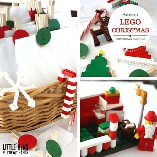 LEGO ADVENT CALENDAR FOR LEGO CHRISTMAS BUILDING IDEAS