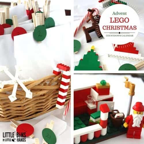LEGO ADVENT CALENDAR FOR LEGO CHRISTMAS BUILDING IDEAS