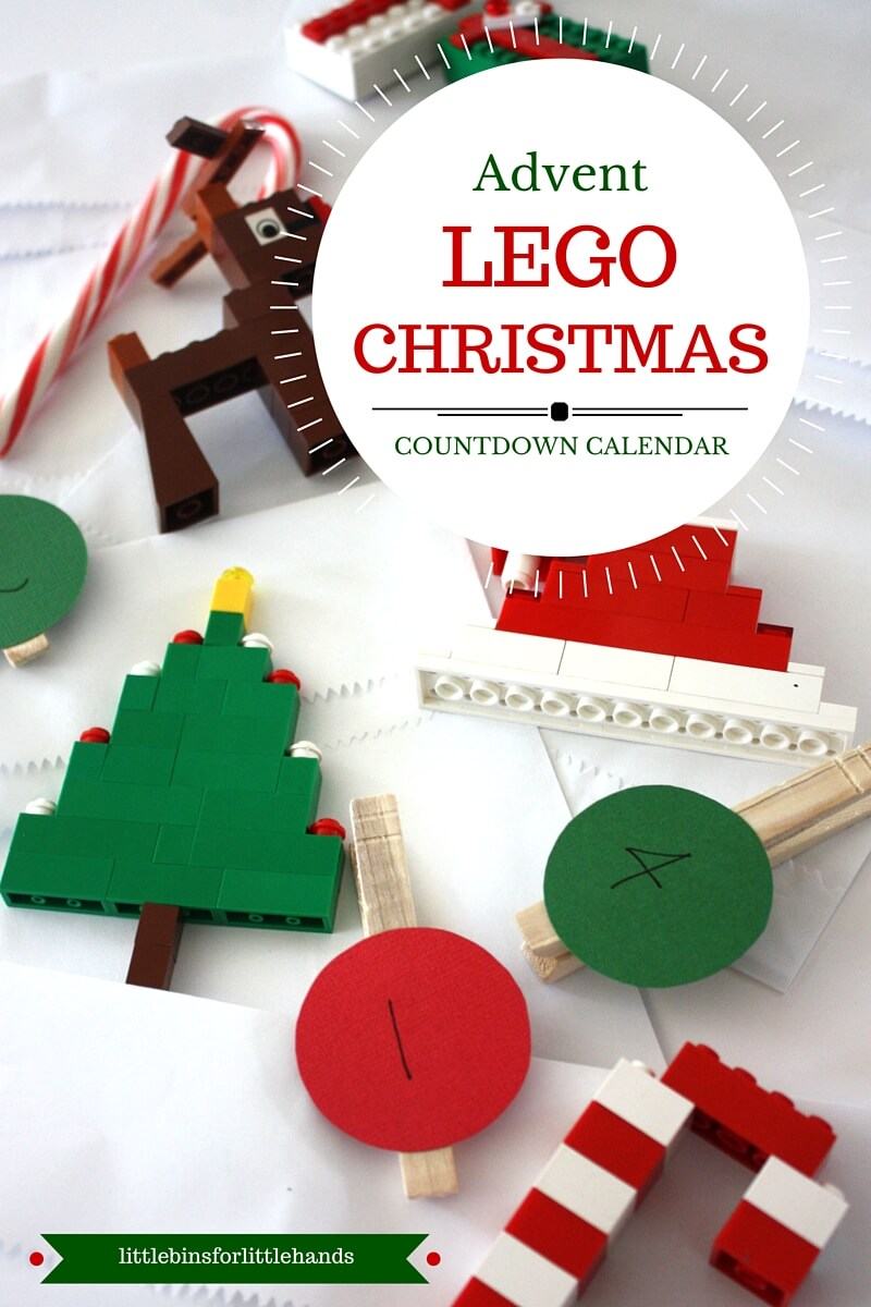 Lego Advent Calendar Ideas : Simple to make lego christmas ornaments for kids