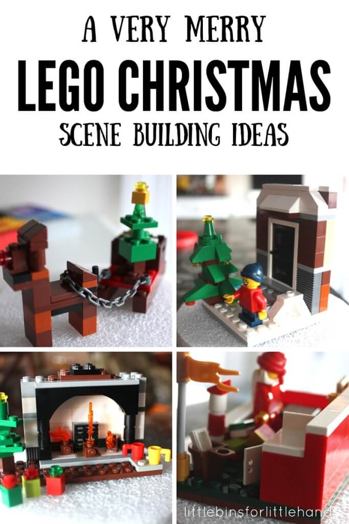 LEGO Christmas Building Ideas 25 Days LEGO Countdown Calendar Advent