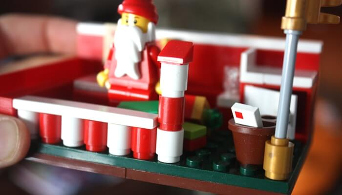 LEGO Christmas Santa Building Idea