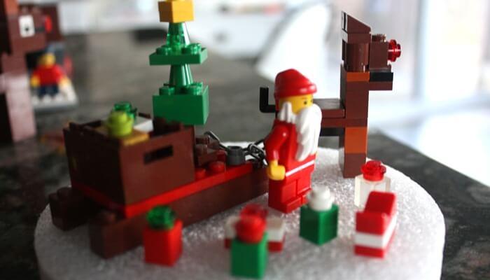 LEGO Christmas Sleigh Reindeer