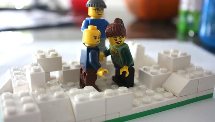 LEGO Family Portrait LEGO Christmas Building Advent Calendar