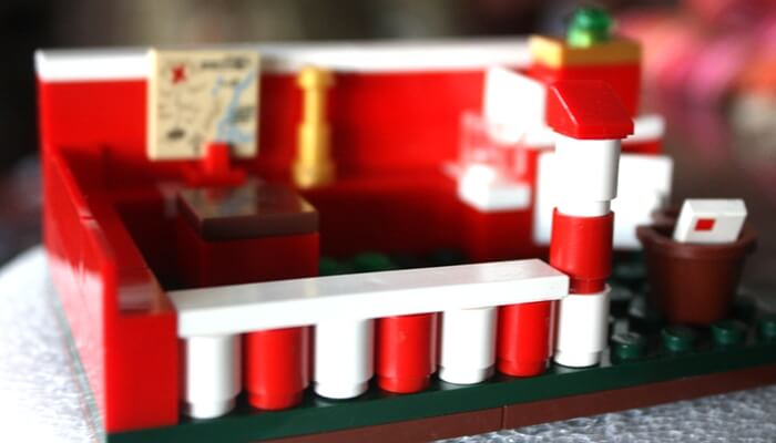 LEGO Santa Workshop
