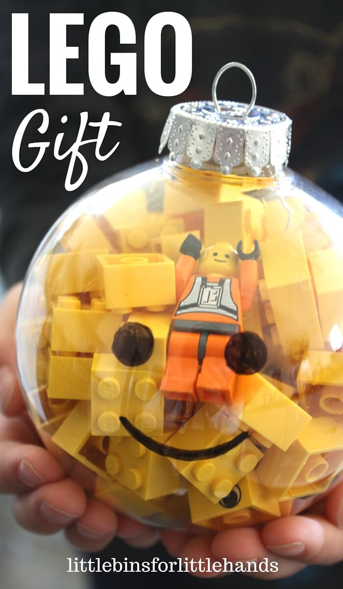 Lego ornament gifts kid 39 s lego stocking stuffer for Simple gifts to make