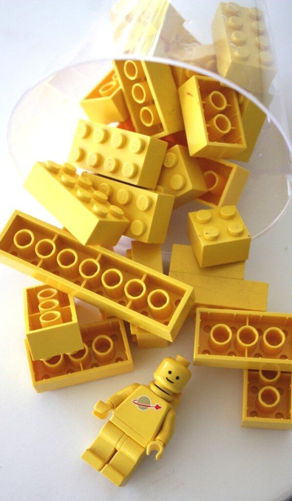 LEGO stocking stuffer gift ornament for kids
