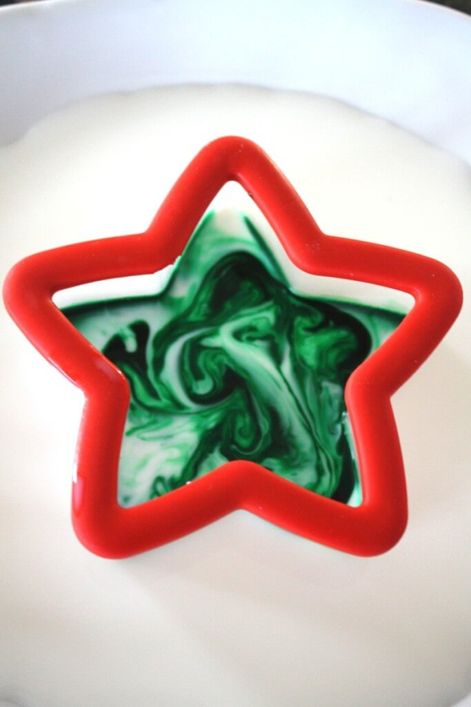 Magic Milk Star Cookie Cutter Christmas Science