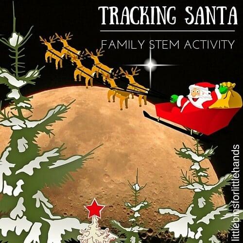 TRACKING SANTA Christmas STEM Activity Family Holiday Tradition