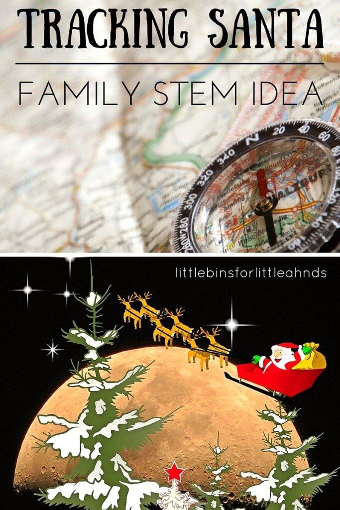 Track Santa STEM Activity Family Holiday Tradition-2