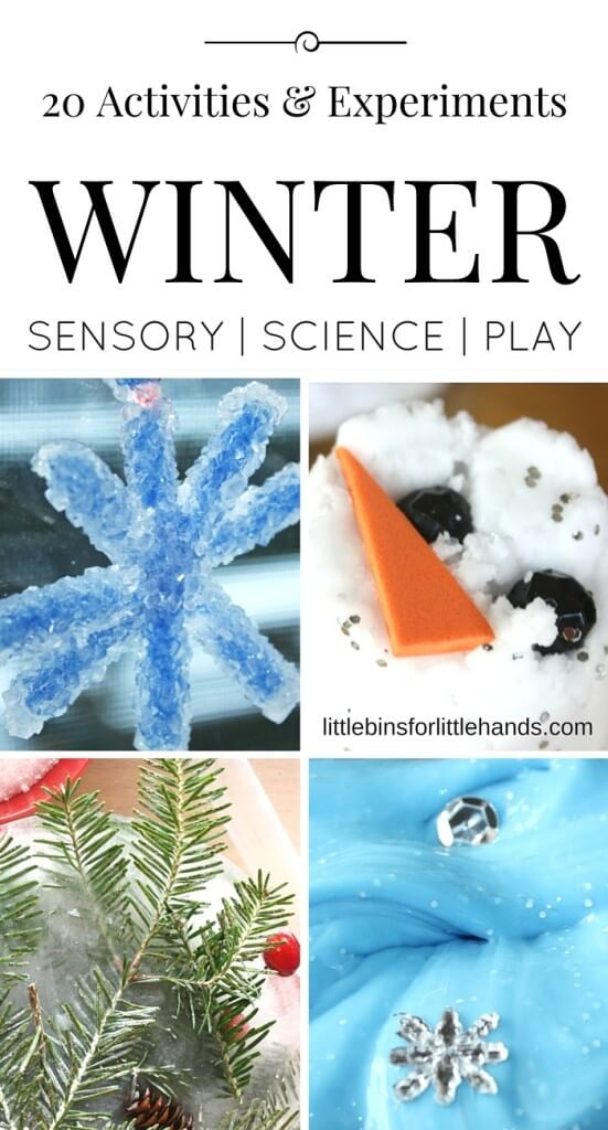 Winter Activities and Science Experiments for Kids