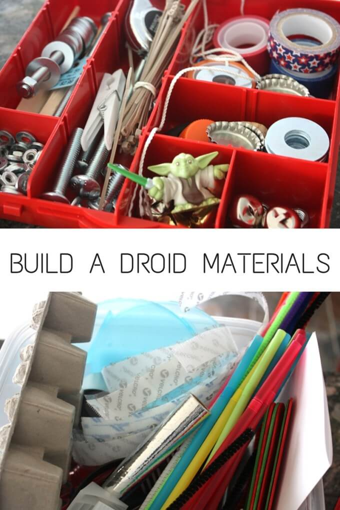 Building Droids and Robots at home supplies