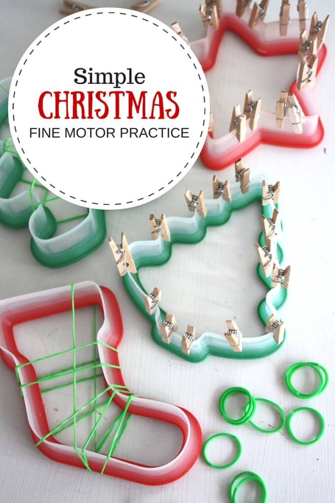Christmas Fine Motor Activities for Kids
